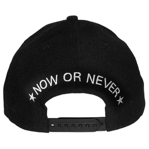 Now or Never Snapback - Black