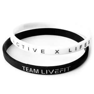 TEAM LIVEFIT™ Wrist Bands