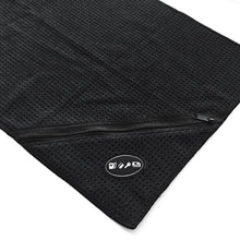 LIVEFIT™ Fitness Zipper Towel - Black