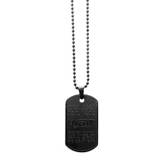 LIVEFIT™ Worldwide Dog Tag - Matte 3D