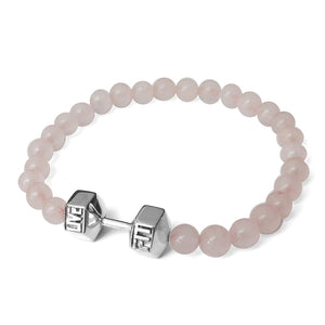 LIVEFIT™ Lifestyle Dumbbell Bracelet - Light Pink