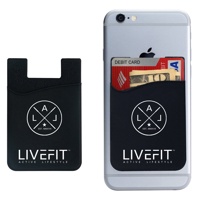 LIVEFIT™ Prestige Phone Card Holder Wallet