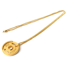 LIVEFIT™ Weight Plate Necklace - Gold