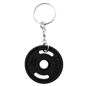 LIVEFIT™ Weight Plate Keychain