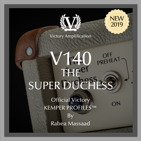 Victory Amps V140 The Super Duchess Kemper Profiles