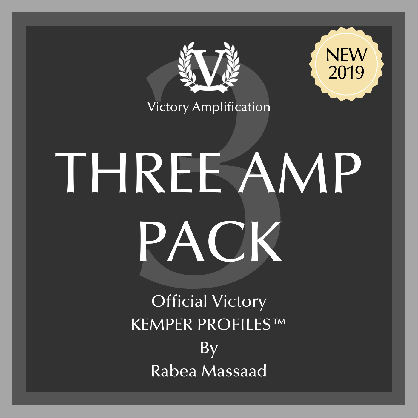 NEW! Victory Official Kemper Profile Packs - 3 Amps Pack