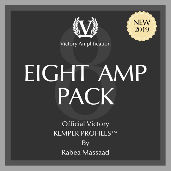 Victory Official Kemper Profile Packs - 8 Amps Pack