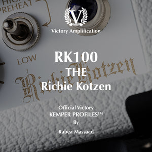 Official Victory Kemper Profiles - Richie Kotzen  PACK