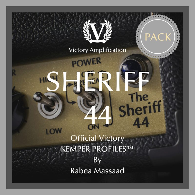 Official Victory Kemper Profiles - Sheriff 44 PACK