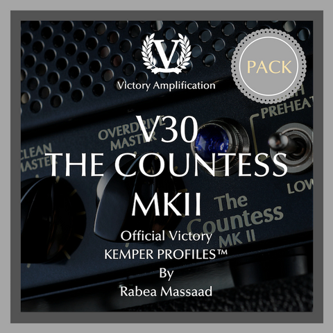 Official Victory Kemper Profiles - V30 The Countess MKII PACK