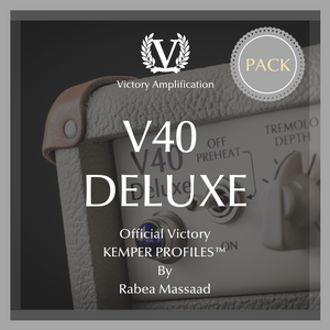 Official Victory Kemper Profiles - V40 Deluxe PACK