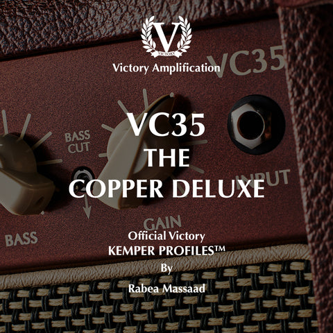 Official Victory Kemper Profiles - VC35 Copper Deluxe PACK