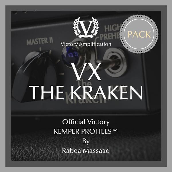Victory Official Kemper Profile Packs - 5 Amps Pack