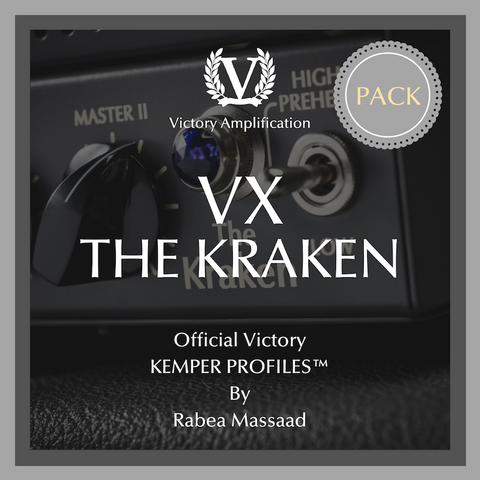 Official Victory Kemper Profiles - VX The Kraken PACK