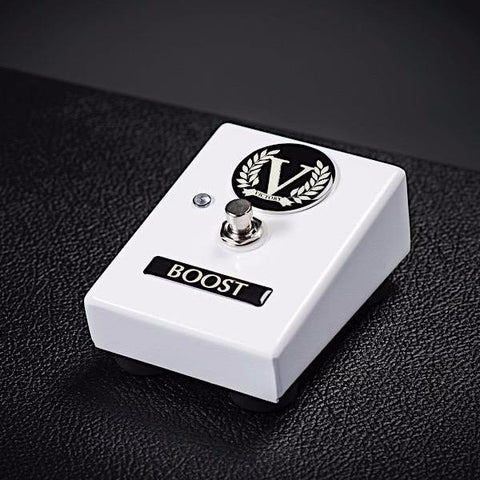 Custom RK50 Head and RK50 Combo Single Footswitch - Boost - Gloss White