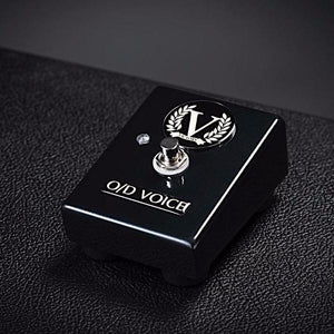 Custom V130 Single Footswitch - O/D Voice - Black Chrome