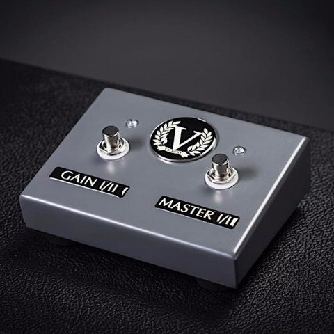Custom VX Dual Footswitch - Gain 1/2 + Master 1/2 - Battleship Grey