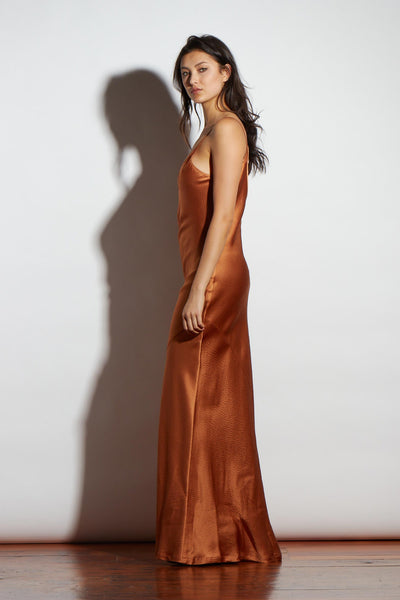COPPER  SILK SLIP - KNUEFERMANN