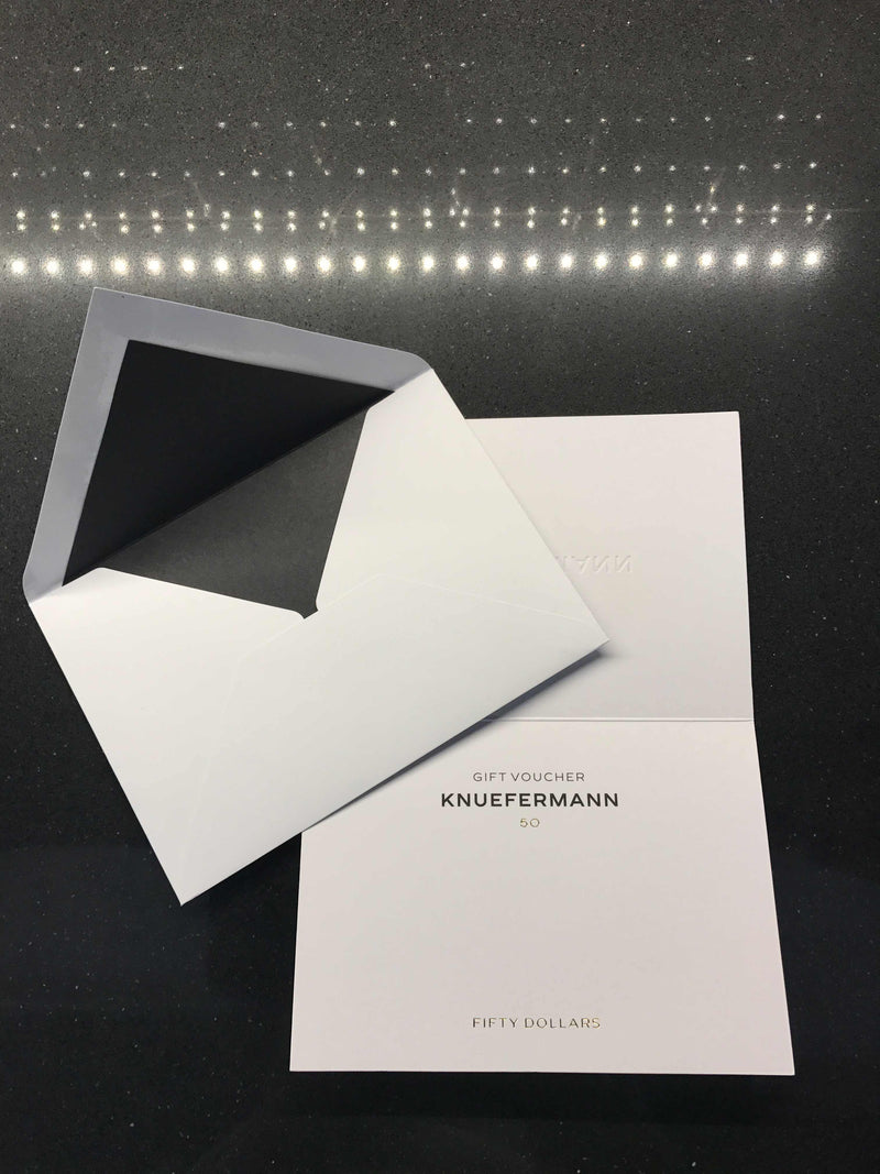 GIFT VOUCHER $50 - KNUEFERMANN
