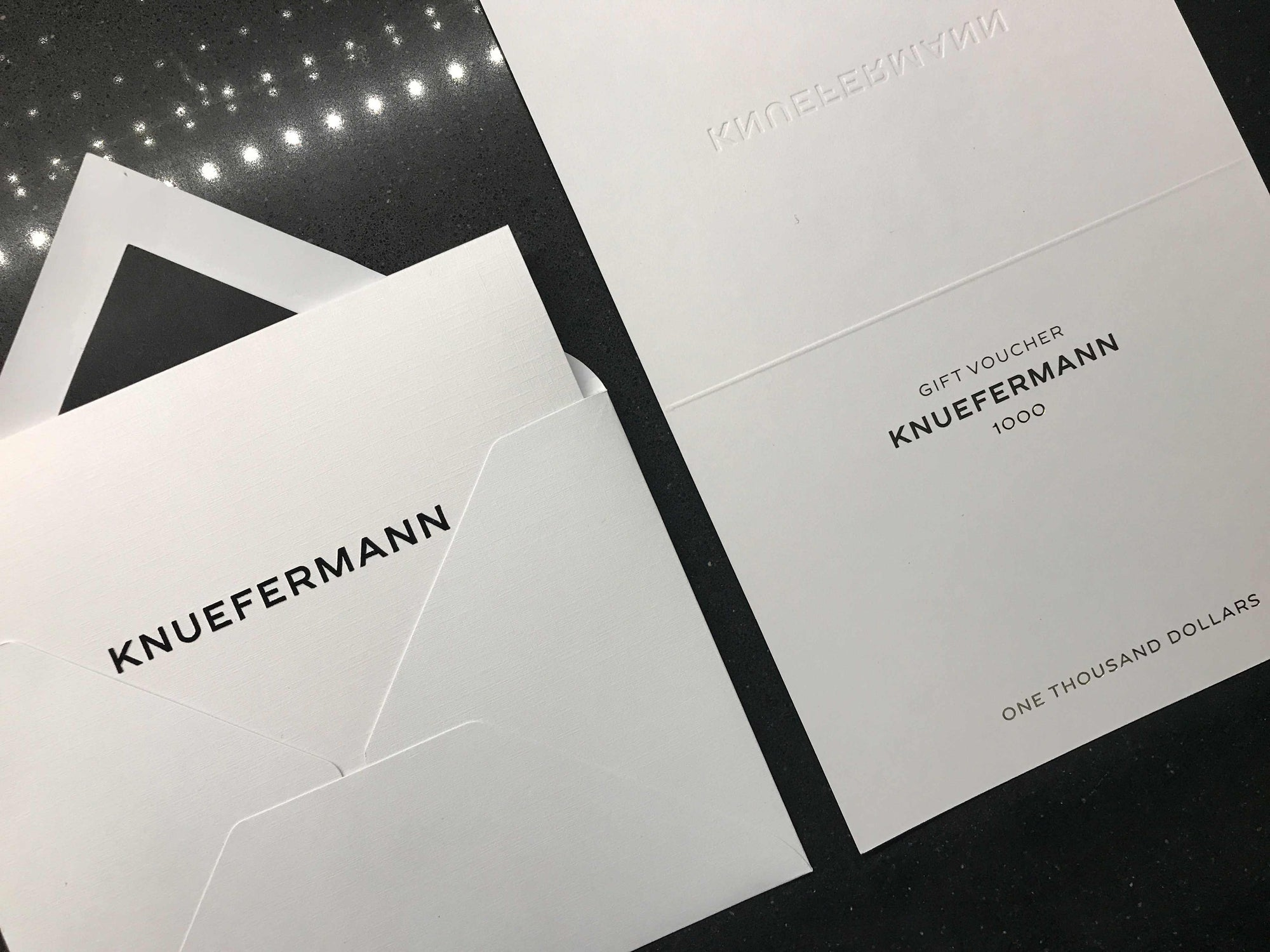 GIFT VOUCHER $1000 - KNUEFERMANN