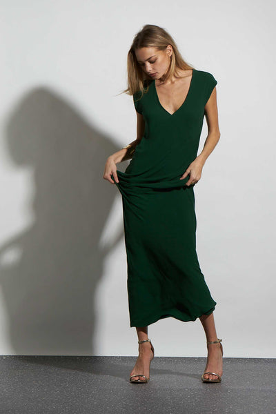 HALSTON DRESS LONG