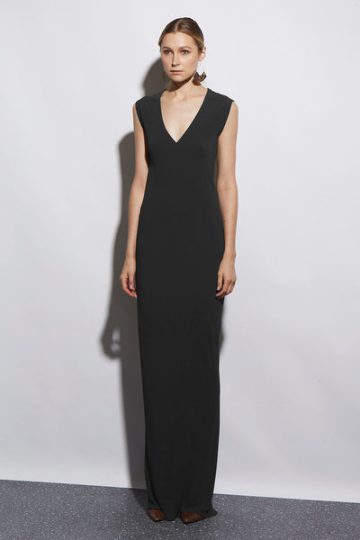 HALSTON DRESS LONG - KNUEFERMANN