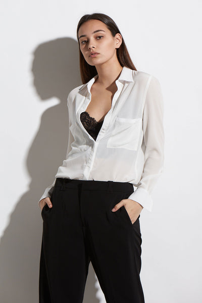 SILK COMO SHIRT - KNUEFERMANN