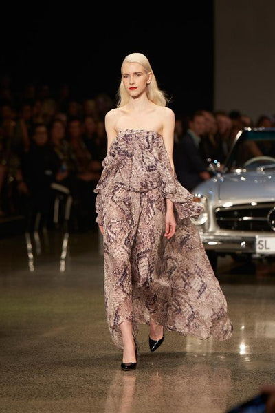 RUNWAY RUFFLE DRESS - KNUEFERMANN