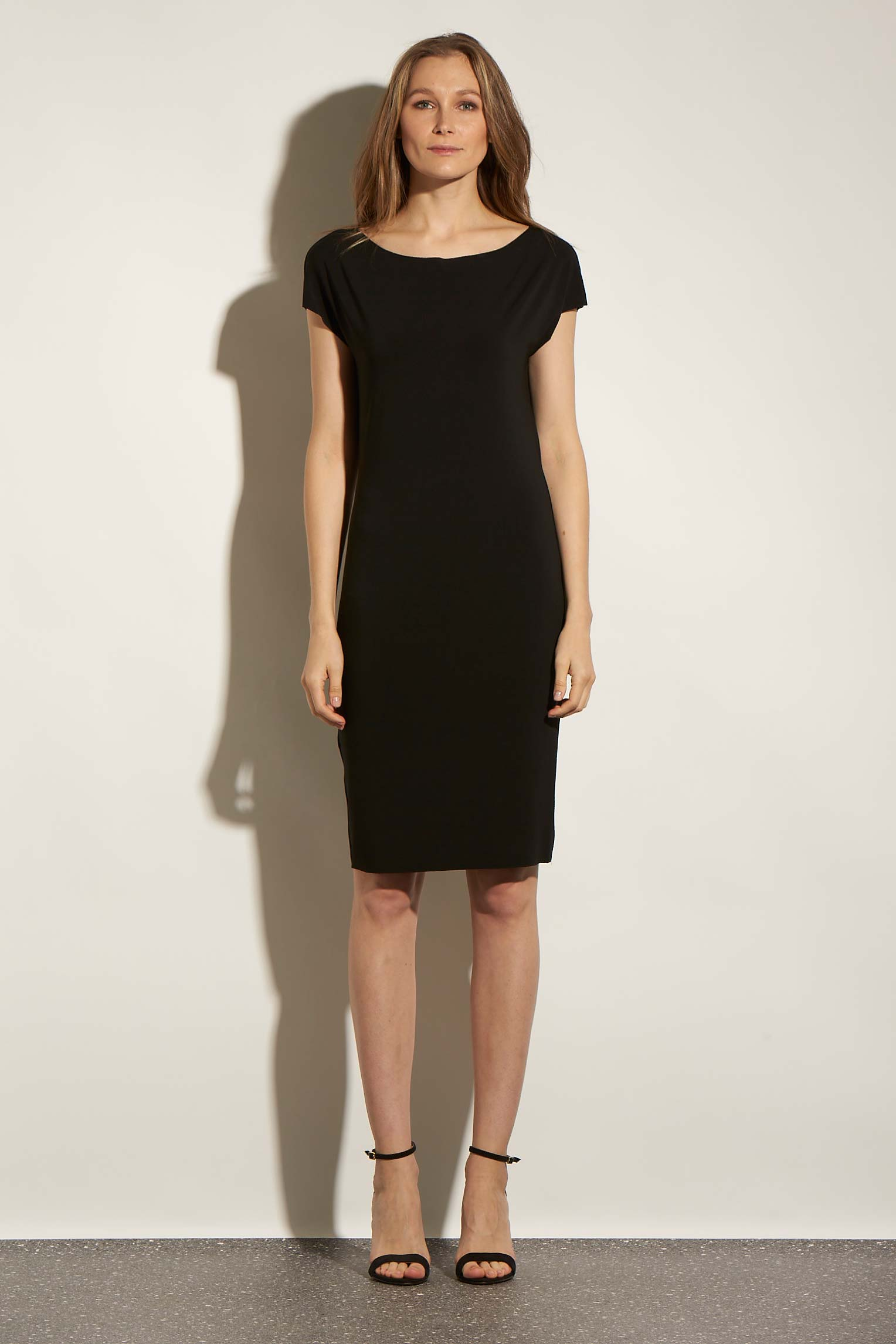 WRAP T MINIDRESS ACETATE - KNUEFERMANN