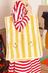 STRIPED BEACH BAG - KNUEFERMANN