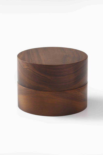 WOODEN JEWELLERY BOX WALNUT O/S - KNUEFERMANN
