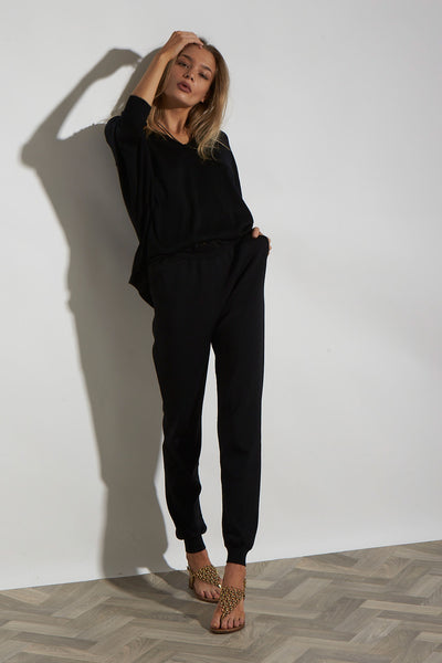 HI RISE DOUBLE KNIT TRACKIES