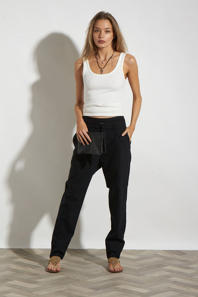 ESSENTIAL SLOUCHPANT BLACK*NEW*