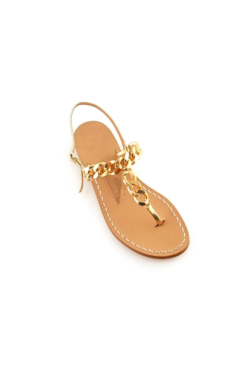 CANFORA INES GOLD FLAT