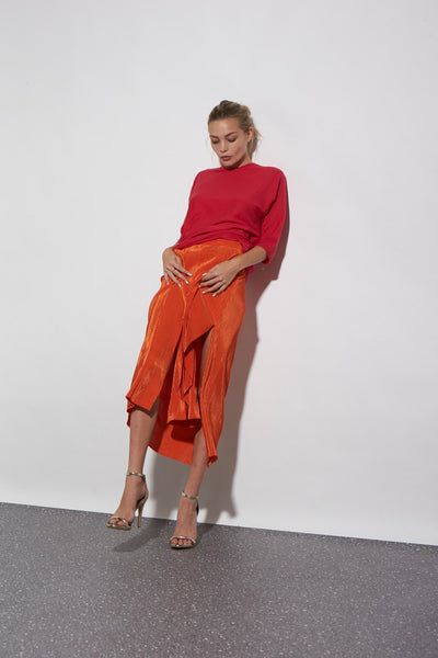 SOFT KNIT T WATERMELON RED - KNUEFERMANN