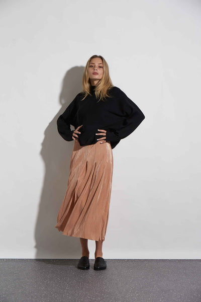 PLEAT SKIRT - KNUEFERMANN