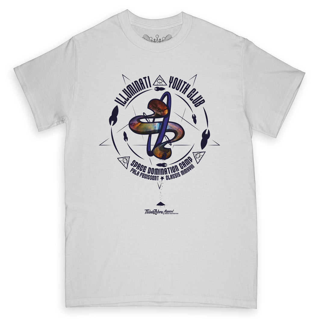 Illuminati Youth Club Space Camp Tee