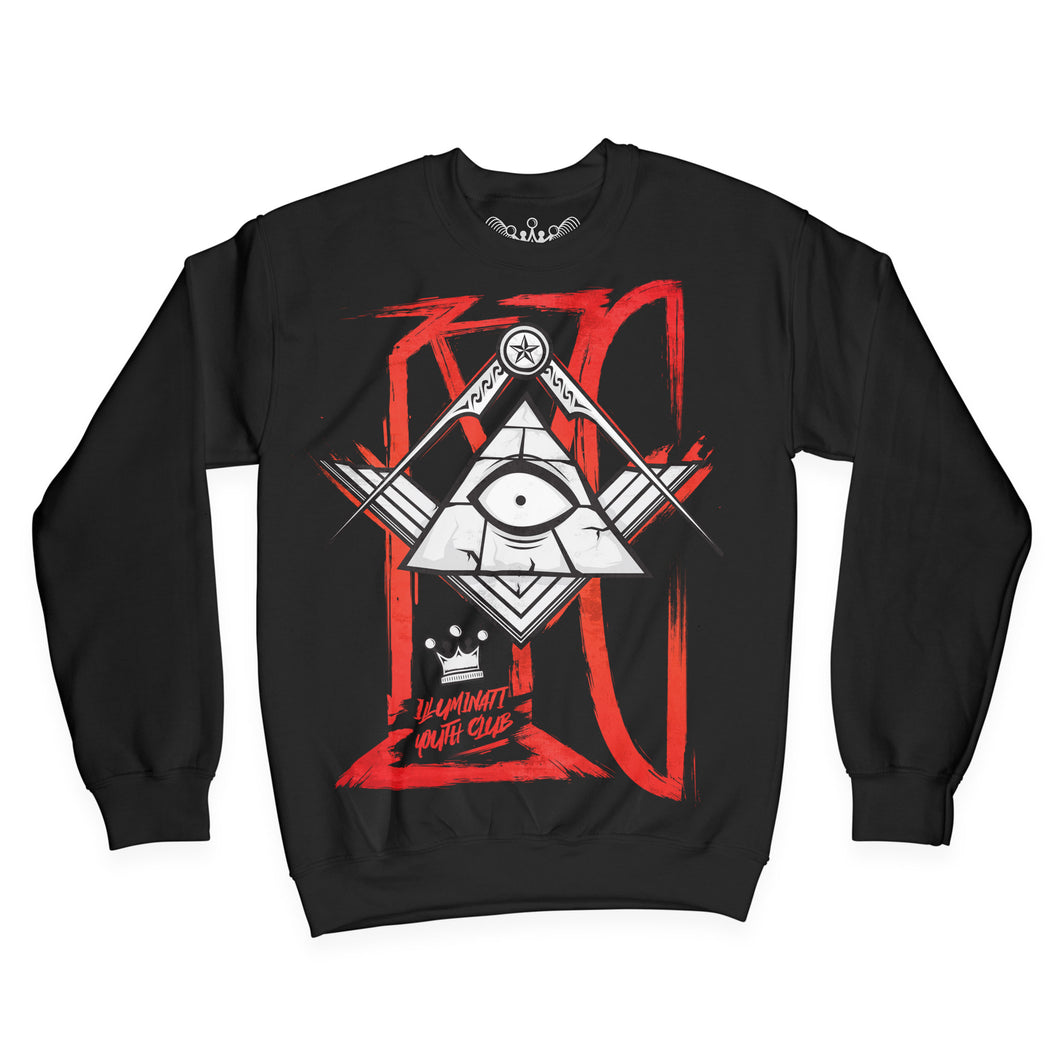 Illuminati Youth Club Sweater