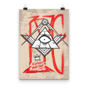 Illuminati Youth Club Print