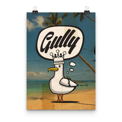Gully Beach Print