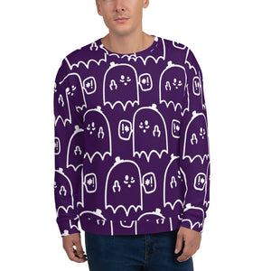 Ghost Print Sweater