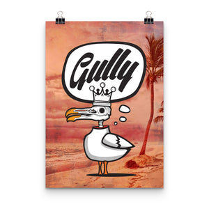 Sgully Beach Print