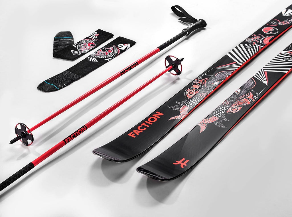 Kengo X Faction Skis X Stance Socks Collab