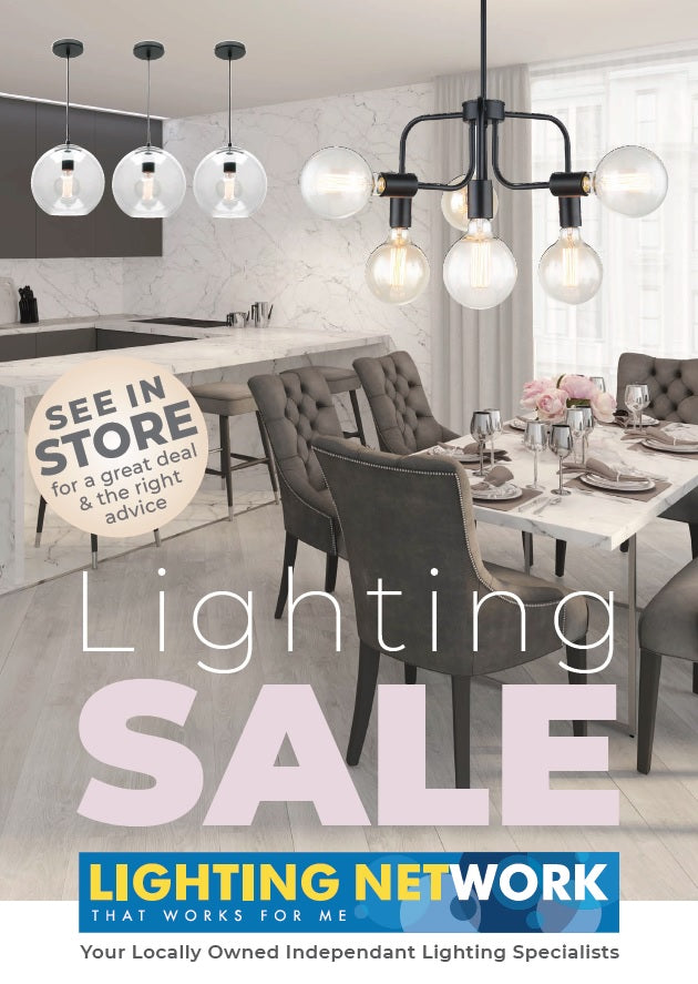 NEW Lighting Catalogue SALE Now On!!!