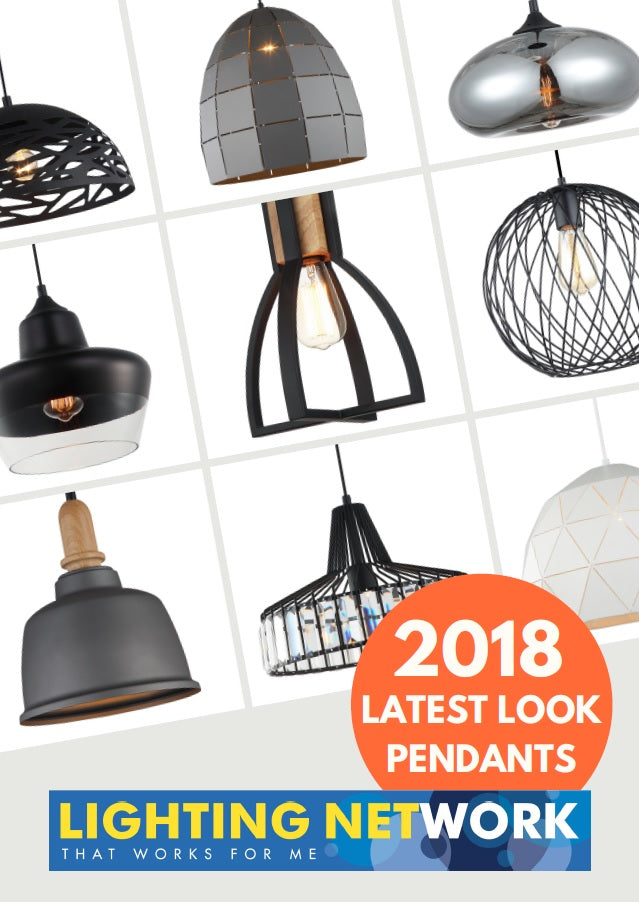New Releases Catalogue - 2018 Latest Look Pendant Lights