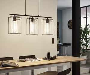 pendant light fitting led designer style eglo