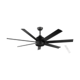 Eglo Tourbillion 7 Blade Metal DC Remote Large Ceiling Fan