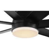 Tourbillion 7 Blade Metal DC Remote Ceiling Fan With LED LIGHT