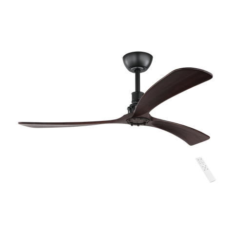 Zapallar 3 Blade DC Remote Timber Ceiling Fan