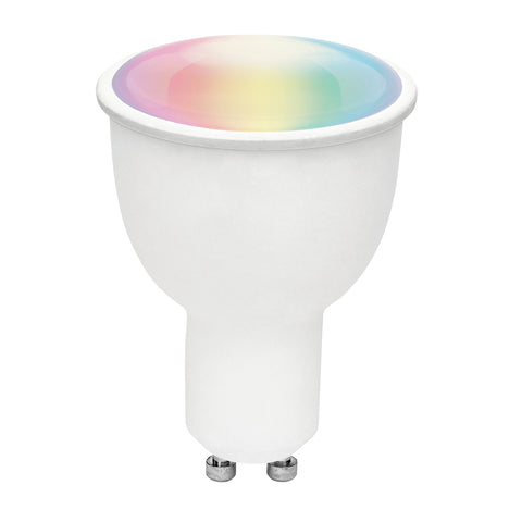 4.5W Brilliant Smart Wifi GU10 LED Globe - RGB Colours + White